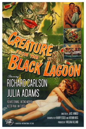 <br>CREATURE FROM THE BLACK LAGOON