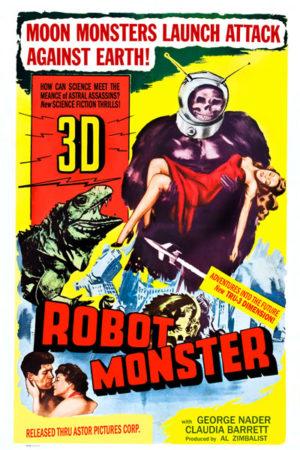 <br>ROBOT MONSTER