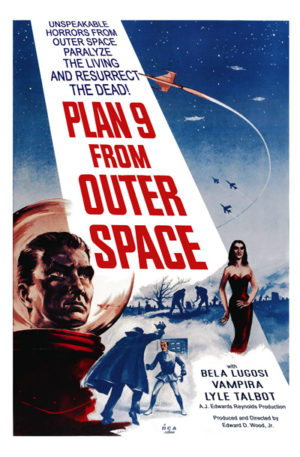 <br>PLAN 9 FROM OUTER SPACE
