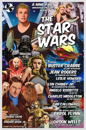 <br>THE STAR WARS